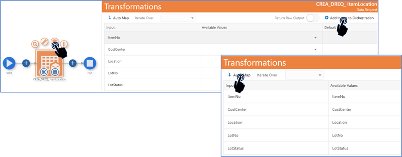 12-auto map_Creating the Orchestrator_Orchestrator Tutorial by Example and New Features Under 9.2.5.3_Createch