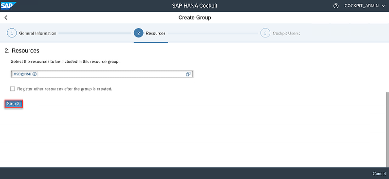 26_step 3_Setting up the SAP Hana Cockpit _How to Configure the SAP HANA Cockpit 2.0