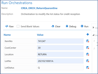 40_run orchestrations_Testing the Orchestration_Orchestrator Tutorial by Example and New Features Under 9.2.5.3_Createch