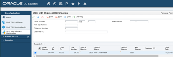 42_document type co_Link the orchestration to the p4205 w4205k form by clicking on ok_Orchestrator Tutorial by Example and New Features Under 9.2.5.3_Createch