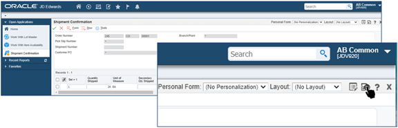 44_form extension_Link the orchestration to the p4205 w4205k form by clicking on ok_Orchestrator Tutorial by Example and New Features Under 9.2.5.3_Createch