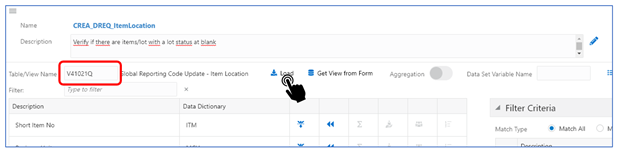 6-view name_Creating the Orchestrator_Orchestrator Tutorial by Example and New Features Under 9.2.5.3_Createch