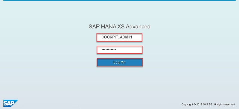 7_Logging on to the SAP HANA Cockpit_How to Configure the SAP HANA Cockpit 2.0