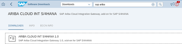 Ariba Cloud int SAP S4HANA