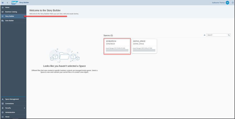 Exposing Data_Story Builder_Tutorial How to Model Data with SAP Data Warehouse Cloud_Createch
