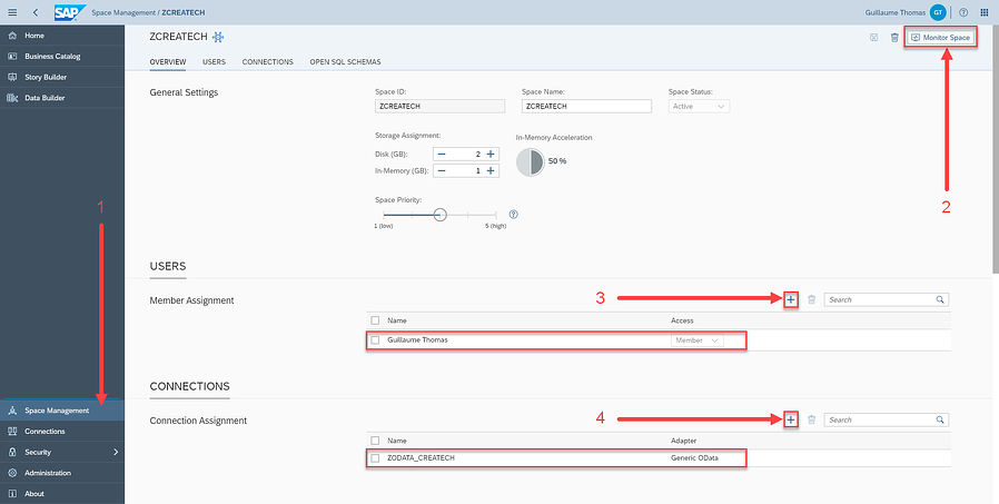 OData Connection Configuration 3_Tutorial How to Model Data with SAP Data Warehouse Cloud_Createch