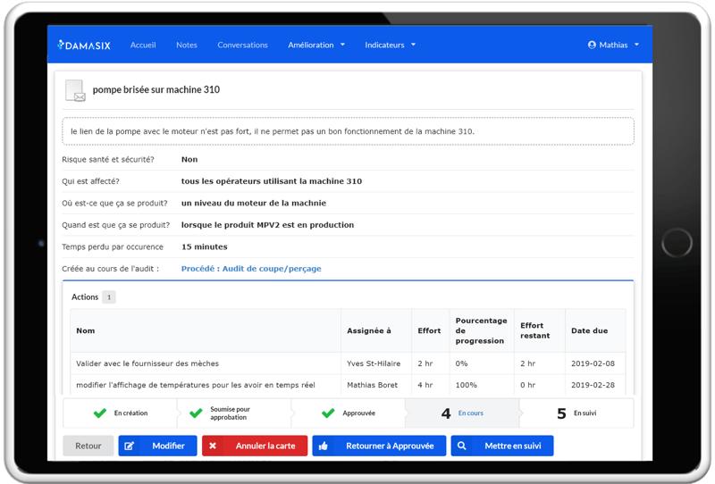 DamaSix_DMS_gestion quotidienne_Carte amélioration_Createch