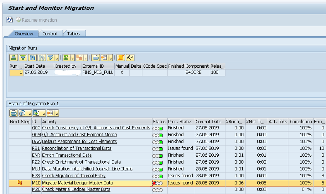 Data Migration Monitor_Start and Monitor Data Migration_SAP S4HANA Conversion Doesnt End With Migration of Database_SAP S4HANA Conversion Project_Lessons Learned_Createch