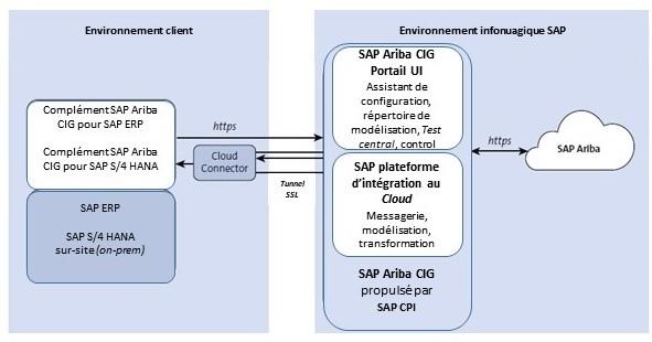 Environnement client - Environnement infonuagique SAP