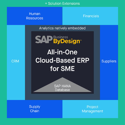 Infographie SAP Business ByDesign_Solution ERP Cloud_PME_Eng_Createch