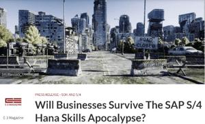 Les entreprises vont-elles survivre à lapocalypse de compétences SAP S4HANA_Le paradigme de 2027 nest pas une fatalité_Réussir sa conversion S4HANA en quatre étapes_Createch
