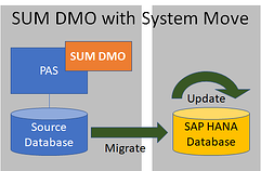 Migrating to SAP HANA Database_DMO System Move_Createch