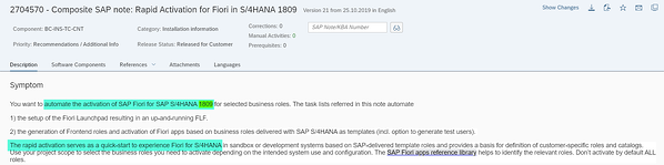 Rapid Activation for SAP Fiori_Leverage Rapid Content Activation_SAP S4HANA Conversion Project_Lessons Learned_Createch