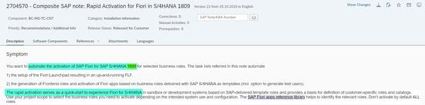 Rapid Activation for SAP Fiori_Leverage Rapid Content Activation_SAP S4HANA Conversion Project_Lessons Learned_Createch