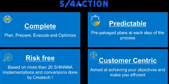 S4 Action_Conclure et maîtriser_Réussir sa conversion S4HANA en quatre étapes_Createch