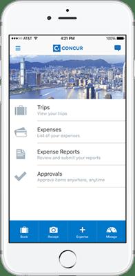 SAP Concur_Concur Expense mobile_Createch