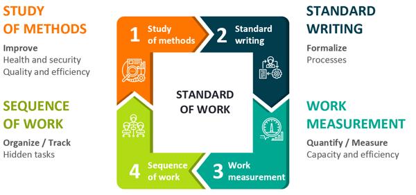 Standard of work details