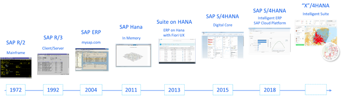 SAP ERP Evolution